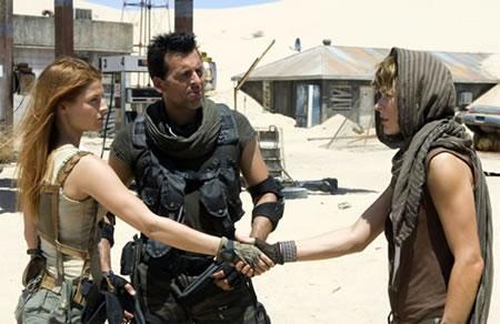El trío calavera en Resident Evil: Extinction